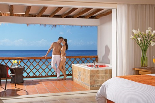 Upgrade to our Honeymoon Ocean View Suite